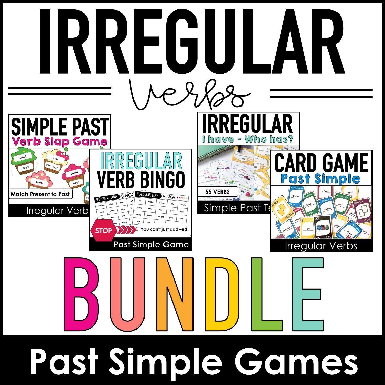 Irregular Verb Games Bundle In