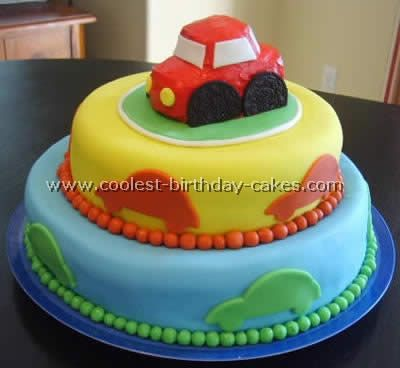 Coolest Car Birthday Cake Ideas and Decorating Tutorials Birthday