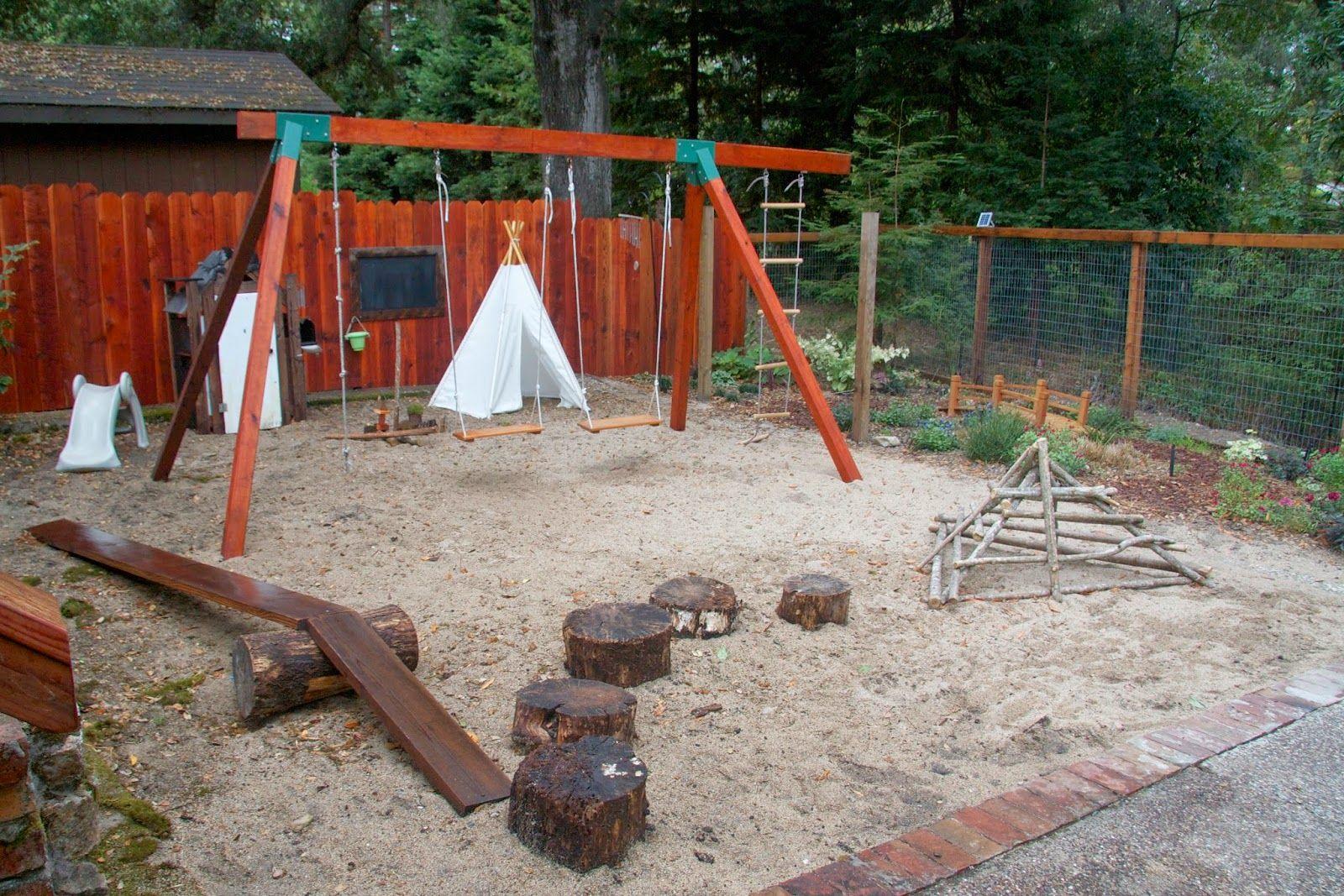 natural materials playground playground tour waldorf outdoor