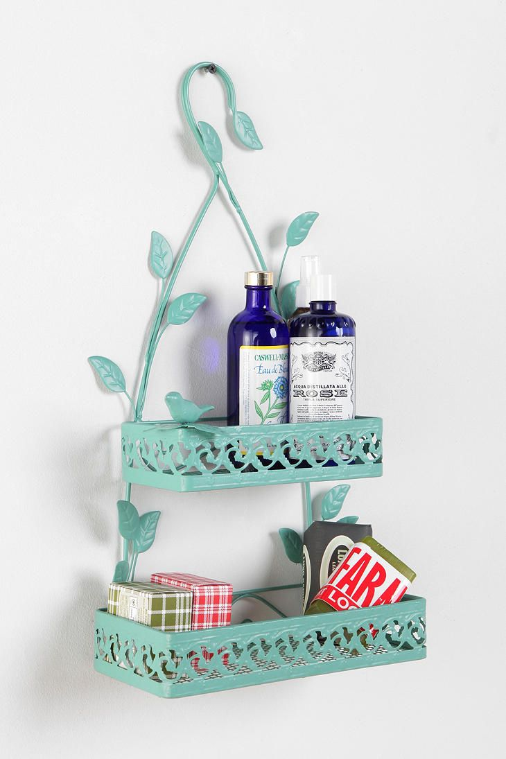 Shop Birds U0026 Leaves Shower Caddy At Urban Outfitters Today.