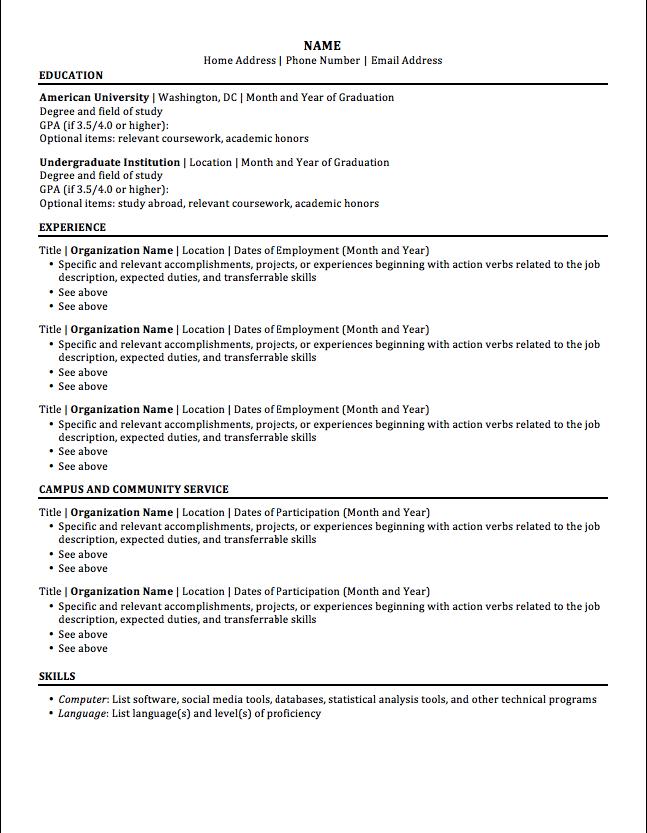 resume format template 2016 - http://resumesdesign.com/resume-format-template-2016/