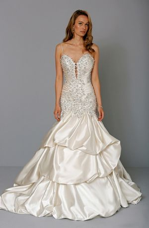 Pnina Tornai: Sweetheart Mermaid Wedding Dress with Dropped Waist in ...