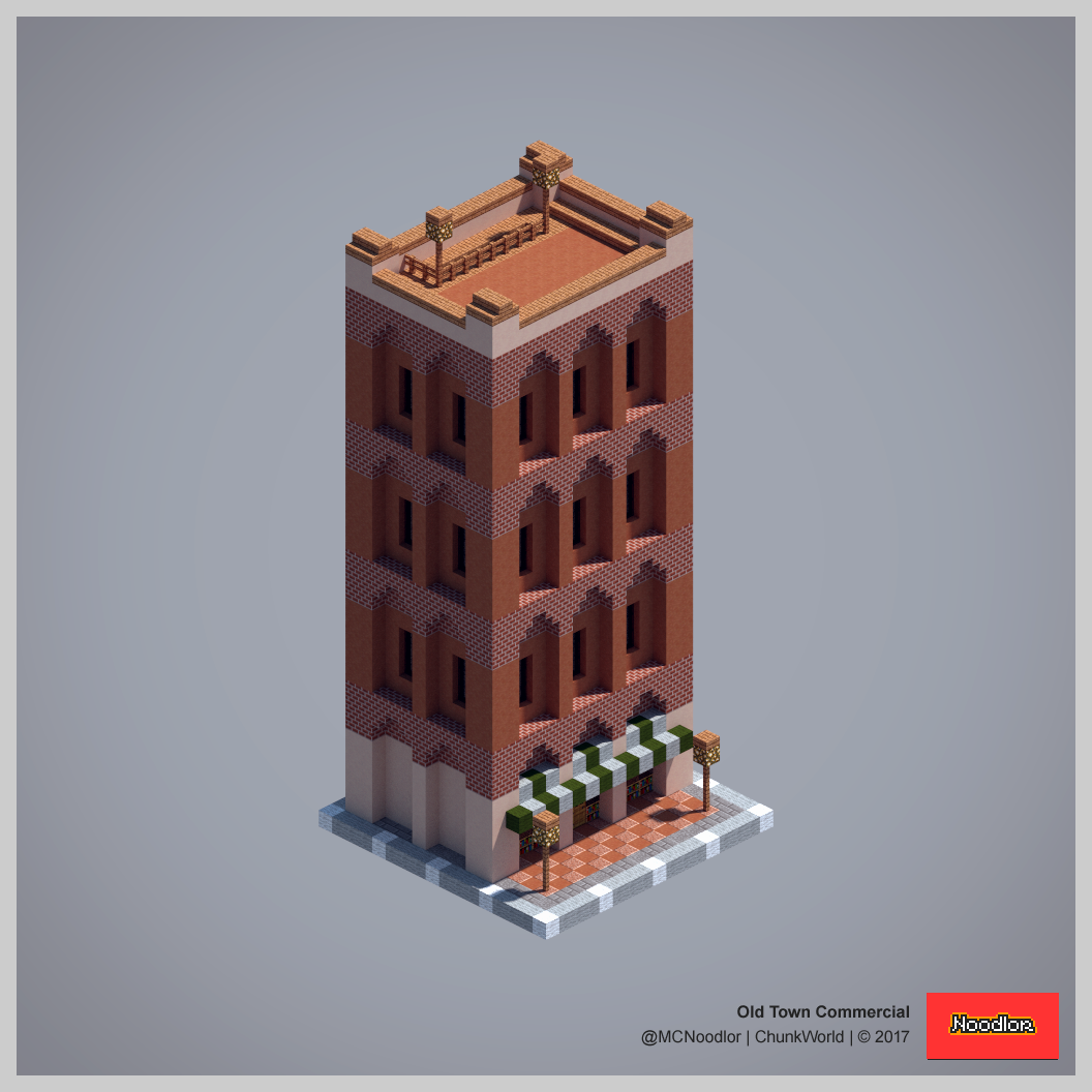 Minecraft Apartment: Minecraft Blueprints, Minecraft
