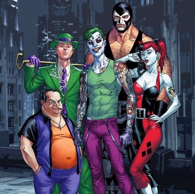 Gotham City Villains