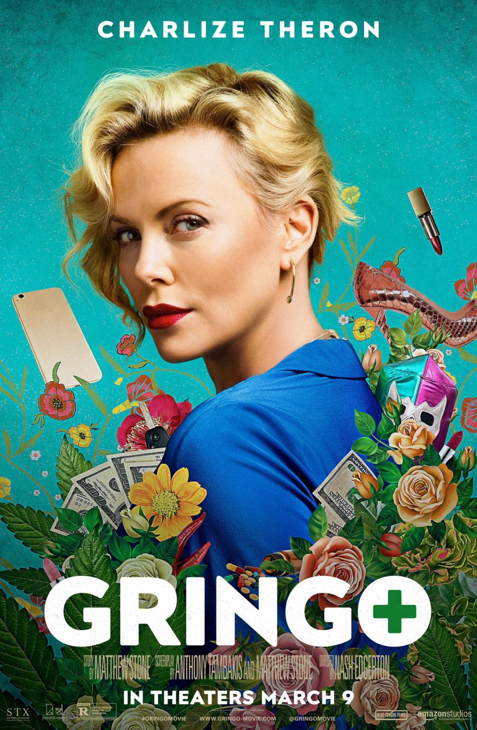 New Movie Posters For Gringo Like Visual Pinterest Movie