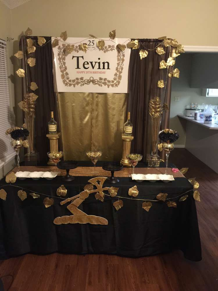 Hennessy Birthday Party Ideas