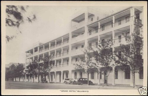 Image result for The Grand Hotel Bulawayo 1920s