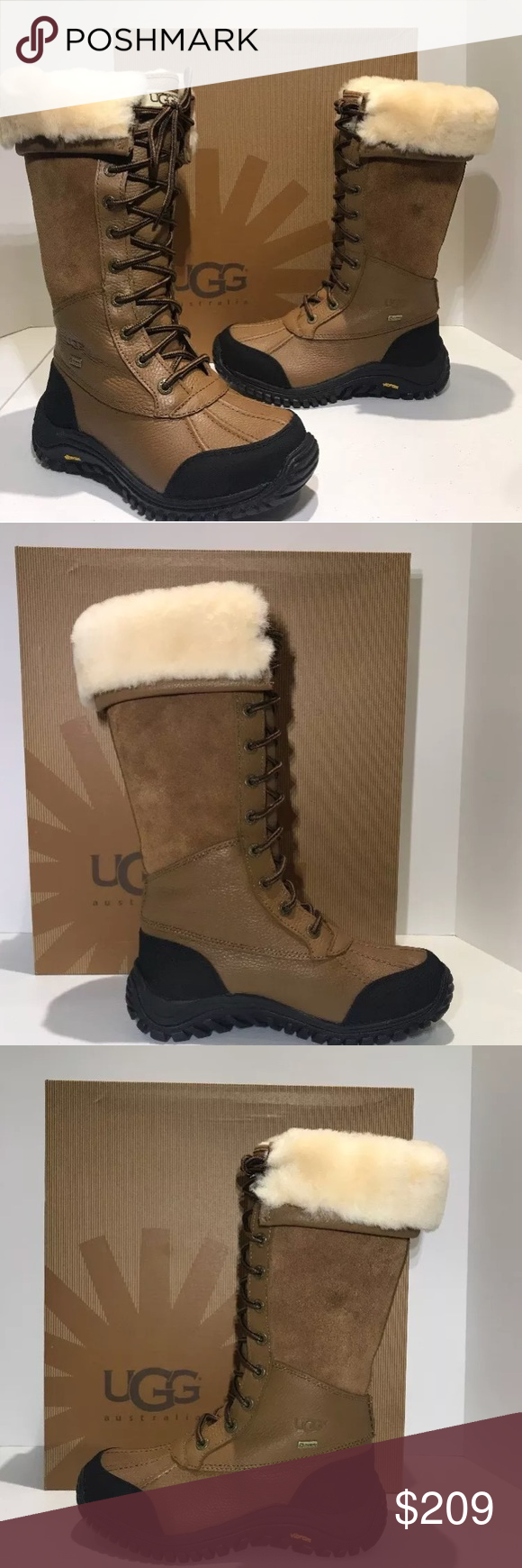 33d87419d65 UGG ADIRONDACK TALL 5498 WATERPROOF WINTER BOOTS AUTHENTIC UGG ...