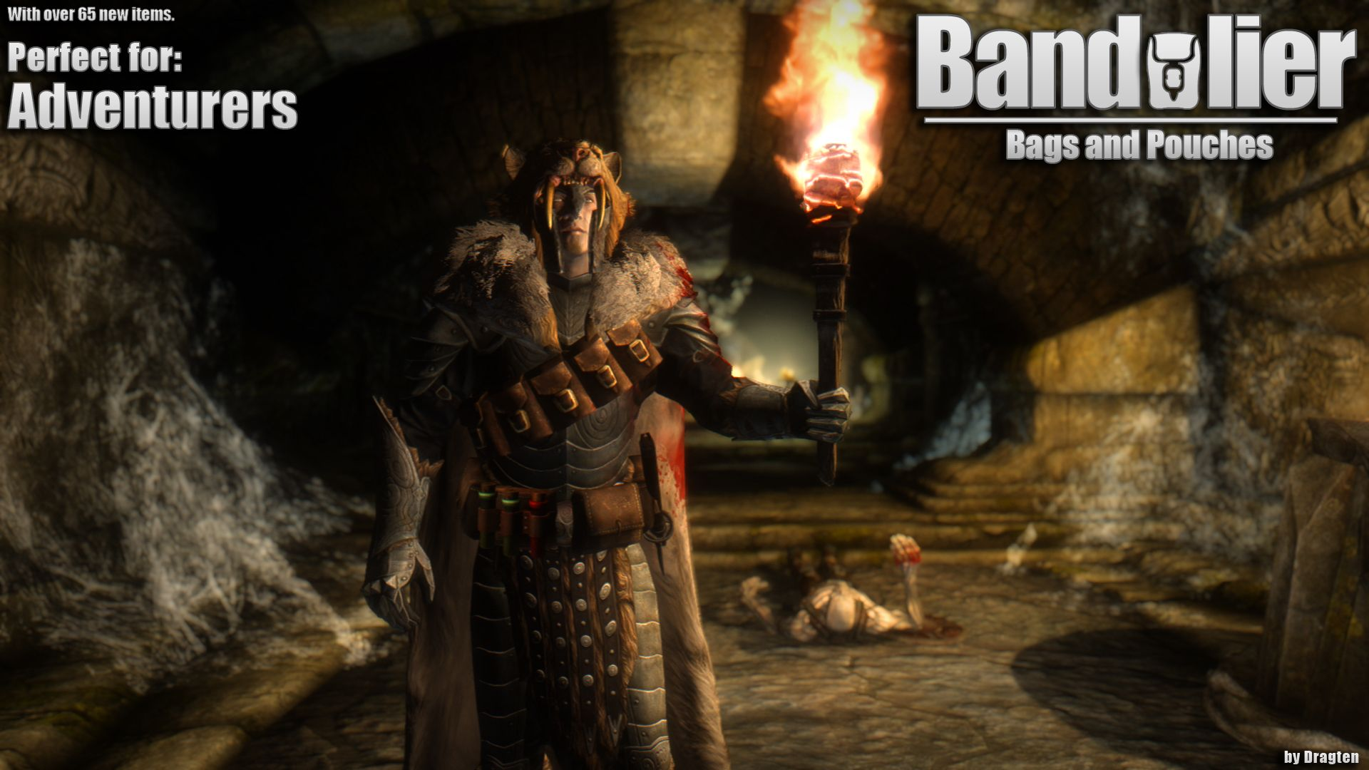Bandolier - Bags and Pouches by Dragten | Skyrim Nexus Mods
