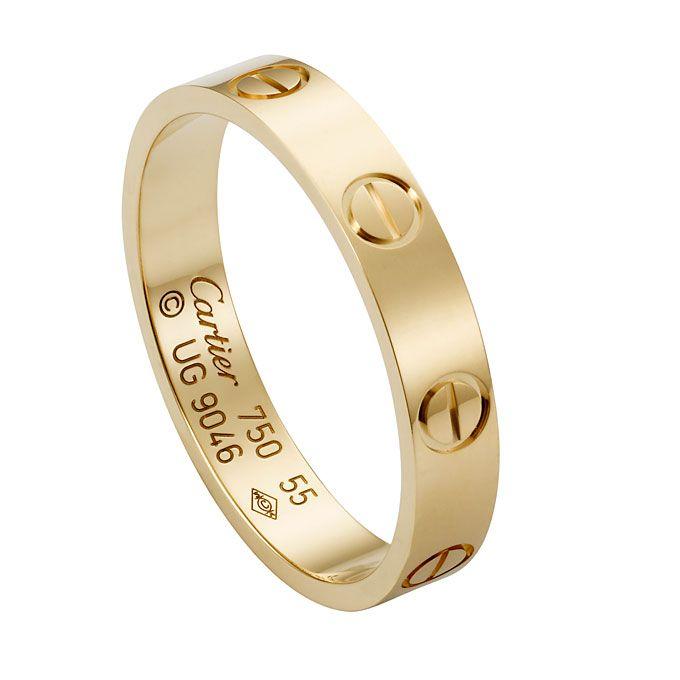 ad60c8e18bf Aliança de ouro da Cartier