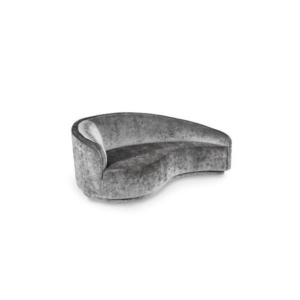 Dana Left Arm Chaise Gray Design By Interlude Home 3 150