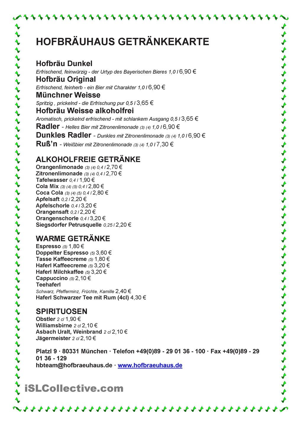 Im Restaurant bestellen | German Worksheets | Pinterest ...