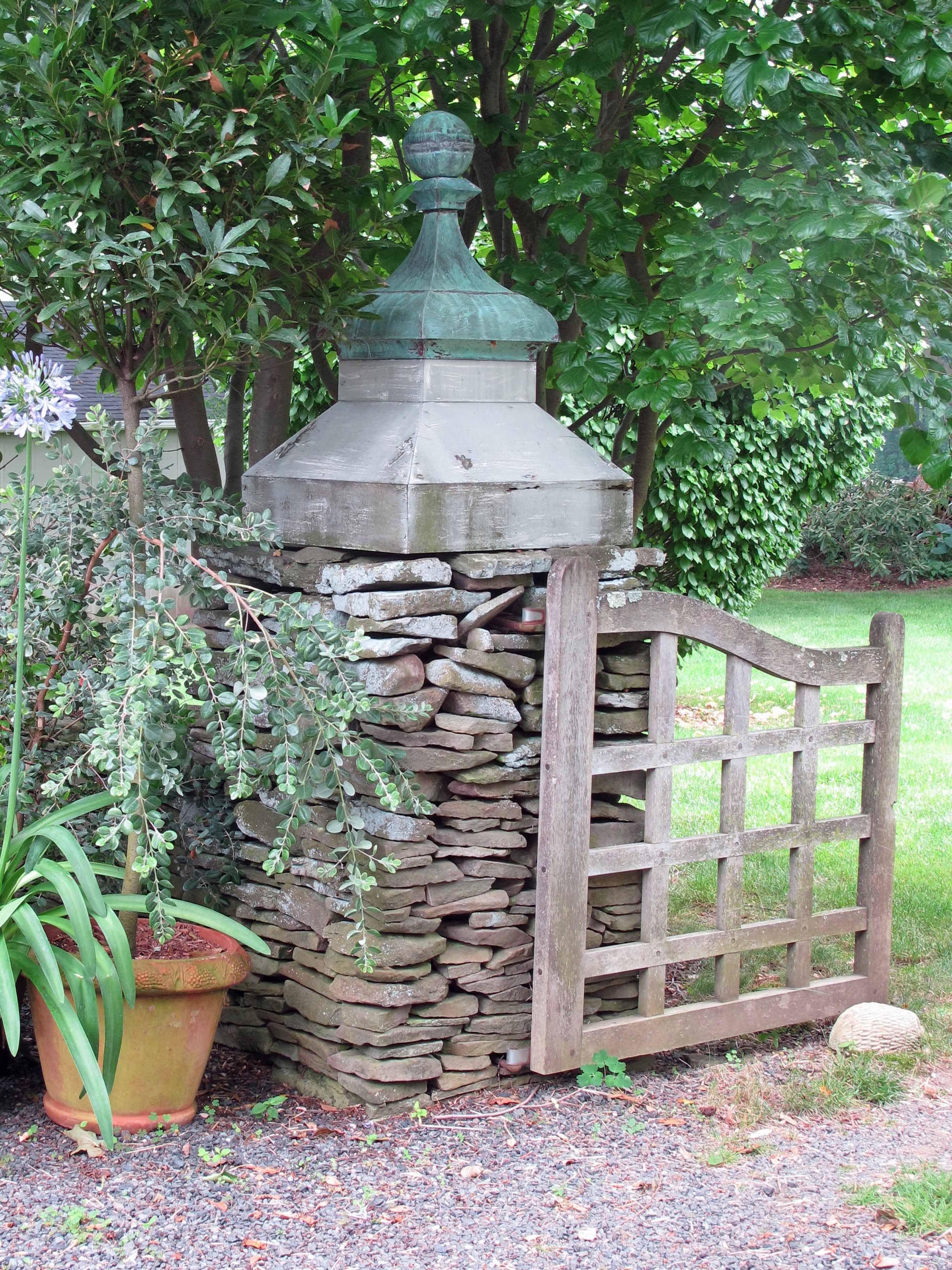 garden design details: rustic wood gates | miss rumphius' rules