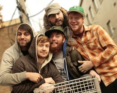 my favoorite boys! Four Year Strong  i want to be inside this cuddle.