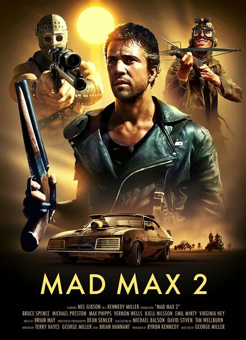Mad Max 2 Pôsteres De Filmes Filmes De Ação E Posters De
