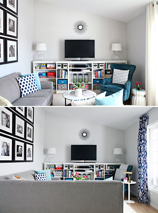 Iheart organizing hooked on navy home is for Decoracion depto