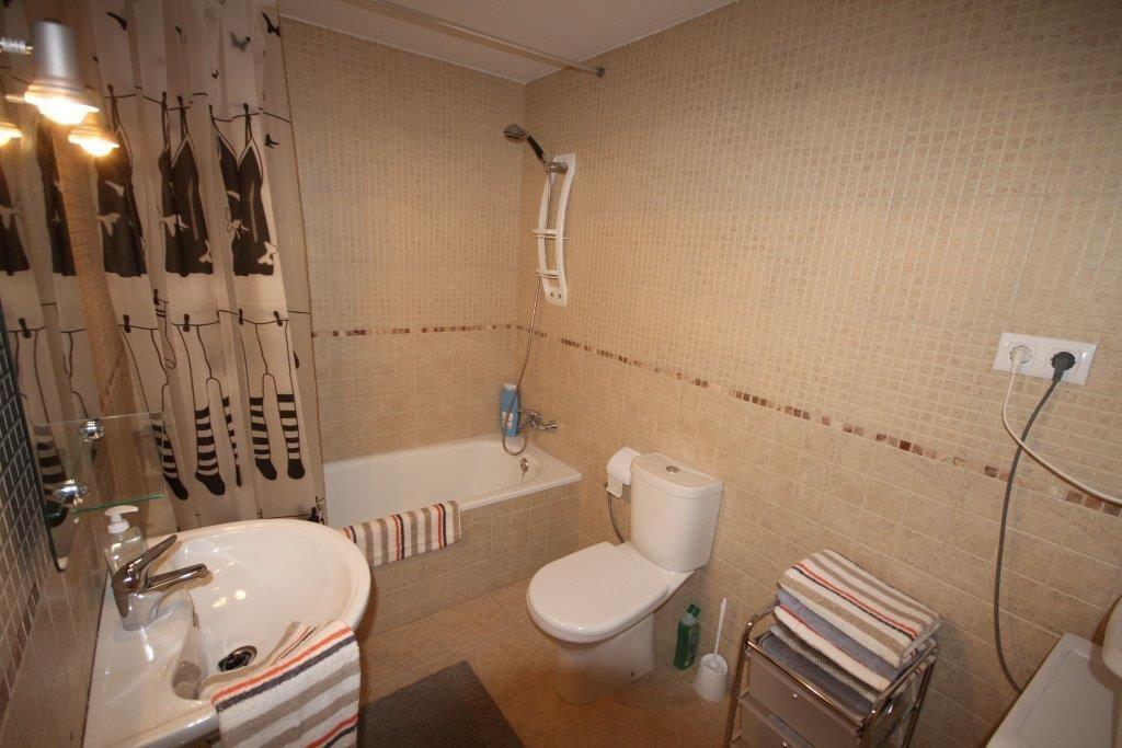 Salle de bain Espagne  Appartement de construction récente Roses