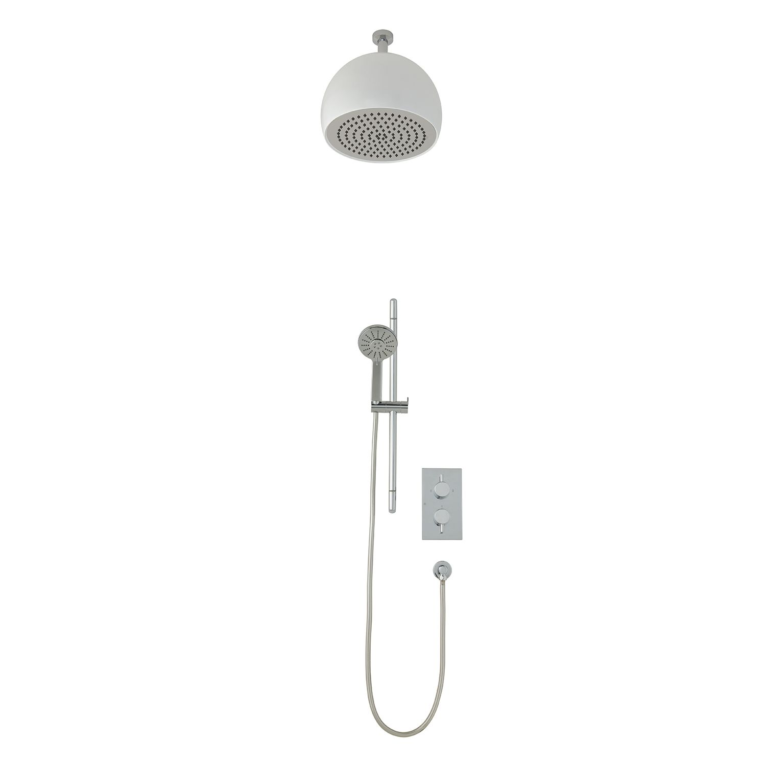 Shower Valves | REEF dual function shower system with overhead drencher