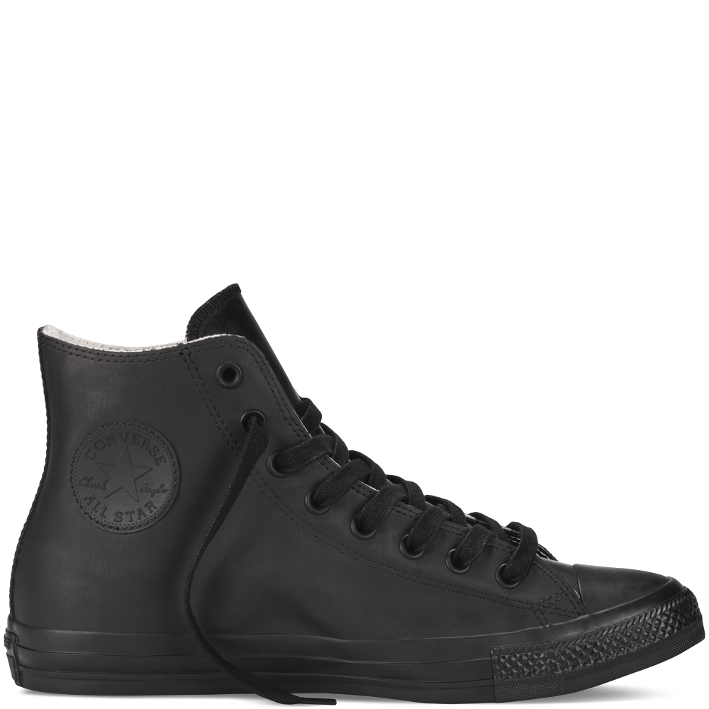 Chuck Taylor All Star Rubber black - perfect for concert season!