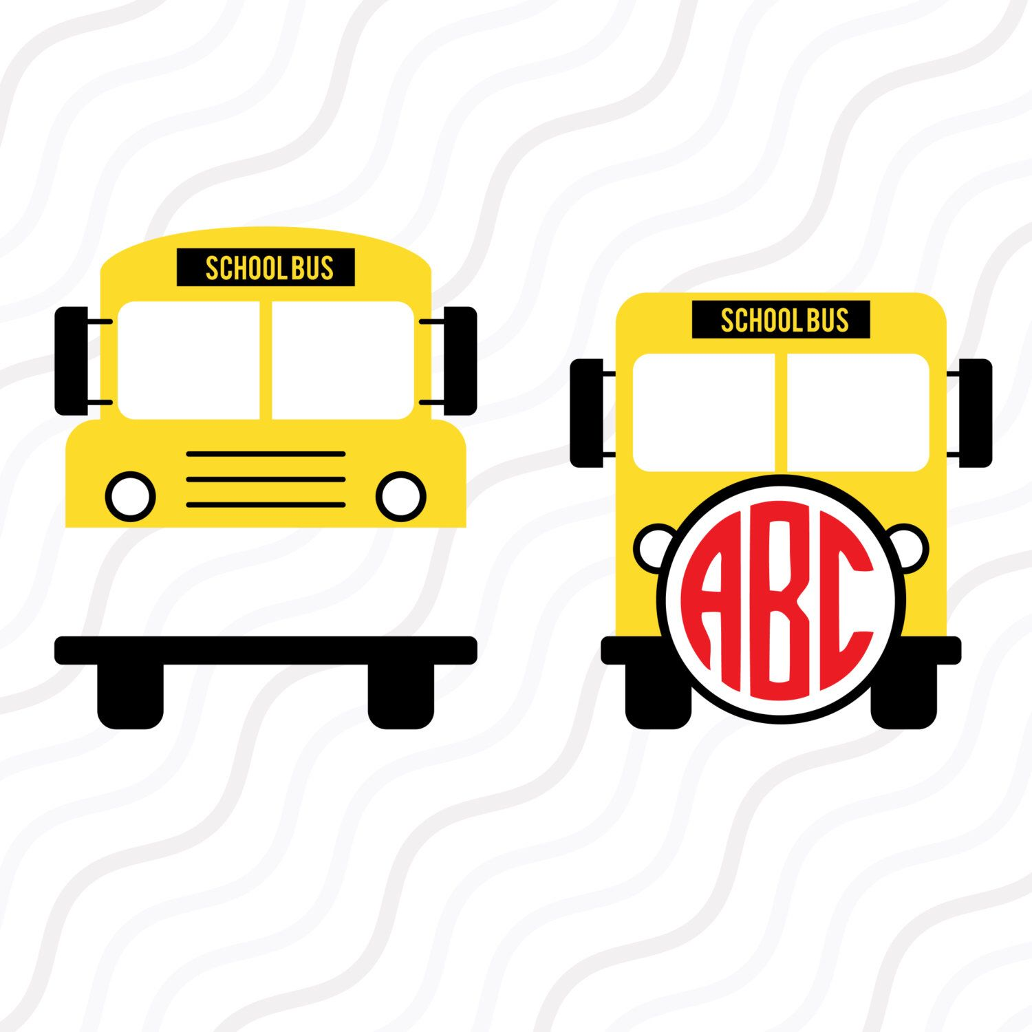 A Personal Favourite From My Etsy Shop Https Www Etsy Com Sg En Listing 493938202 School Bus Svg Back School Bus School Bus Driver Gift Ideas Back To School