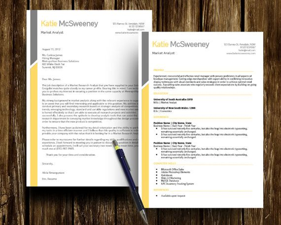 Diy Google Docs Printable Resume And Cover Letter By Digidigi Cover Letter Template Free Cover Letter Template Professional Cover Letter Template