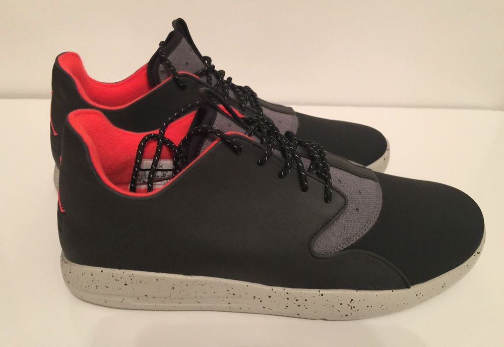 online store 568f9 a88f3 Jordan Eclipse Holiday Sneakers Size 12 Comfort Shoes Black Infrared Grey  New  Jordan  Sneakers