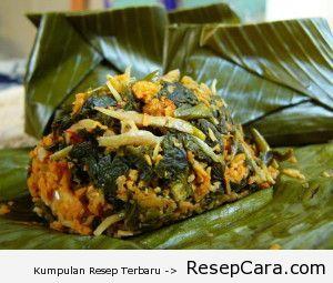 Makanan Khas Jawa Tengah Cara Membuat Resep Botok Teri Resep Masakan Indonesia 2014 Yummy Vegetable Recipes Malaysian Food Malay Food