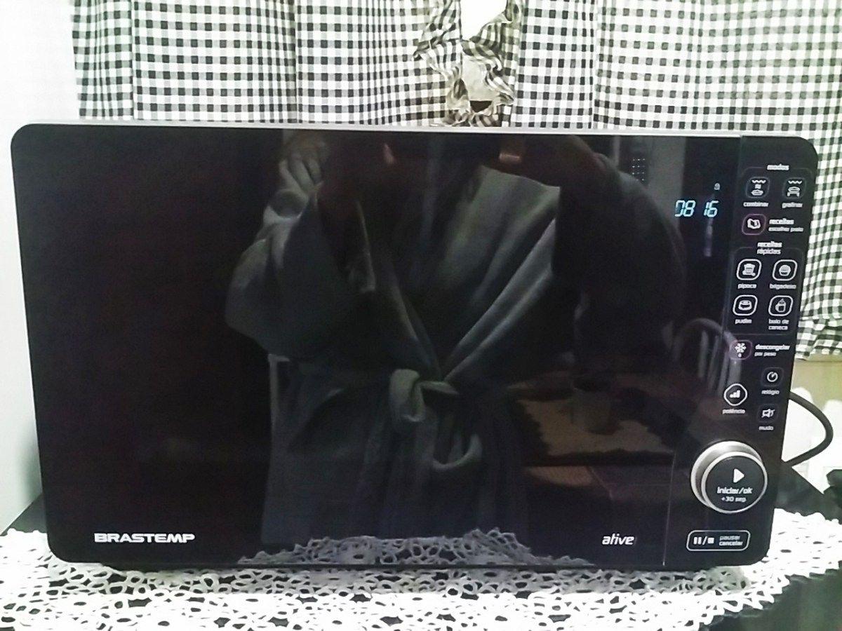 Chegou meu Microondas Novo:Brastemp Maxi Flat ,saiba tudo sobre ele e acompanhe o seu uso aqui no Blog!!