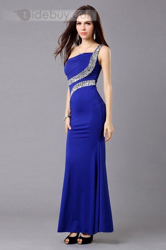Vestido Color Azul Rey Moda Femenina Moda Y Femenina