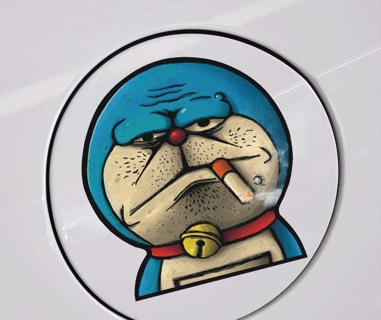 27 Gambar Doraemon Merokok Keren Us 0 97 17 Off 12 11 Cm Doraemon Merokok Lucu Kartun Warna Warni Mobil Stiker Kreatif Stike Kartun Doraemon Karya Seni Garis