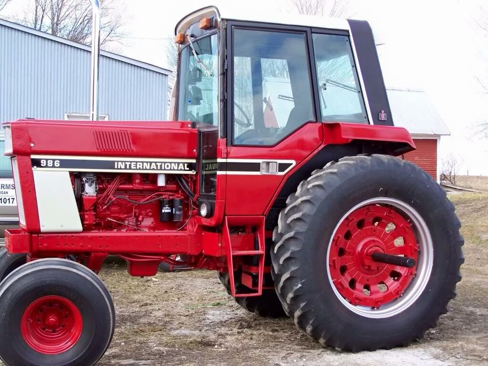 International Harvester 986 Tractor : International ih farmall pinterest