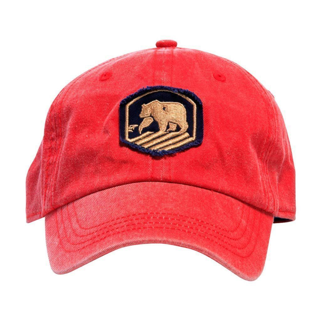 7e1a605082d95 Faded Active Wear Cap in Red by The Normal Brand Active Wear
