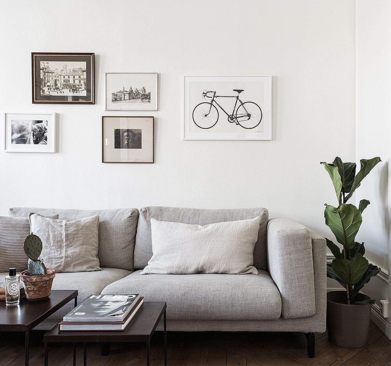Dark blue and kitchen tiles home livingroom - Bilderwand wohnzimmer ...