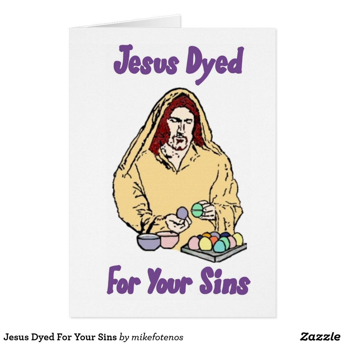 Dyed for your sins card jesus dyed for your sins card kristyandbryce Choice Image