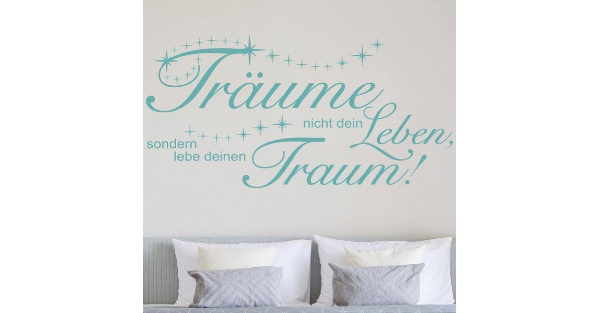 Photo of Imagery Wall Decal »Don't dream your life« OTTO