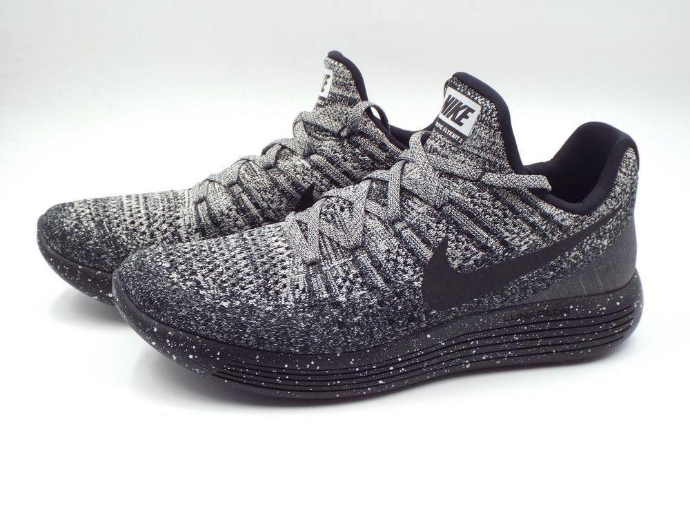 52d284e4e937 Men s Nike Lunarepic Low Flyknit 2 Size 8 (863779 041) Black White  fashion   clothing  shoes  accessories  mensshoes  athleticshoes (ebay link)