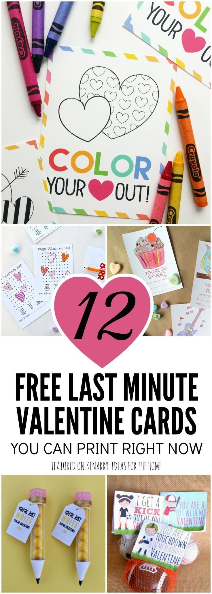 Free Printable Valentines 12 Last Minute Cards You Can Print Now