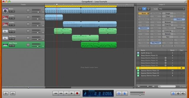 Create An Electronica Masterpiece With GarageBand [OS X