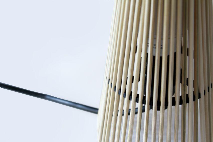 lampe fagot - objets imprimes - design jean baptiste ricatte