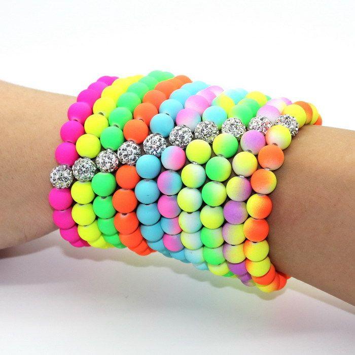 80 s neon fashion accessories neon jewelry accessories