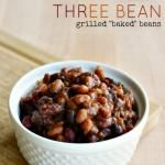 GIVEAWAY | 4th of July Grilled Three Bean Casserole Recipe