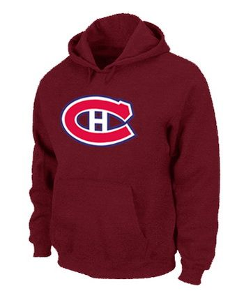 Mens NHL Montréal Canadiens Big & Tall Logo Pullover Hoodie Red