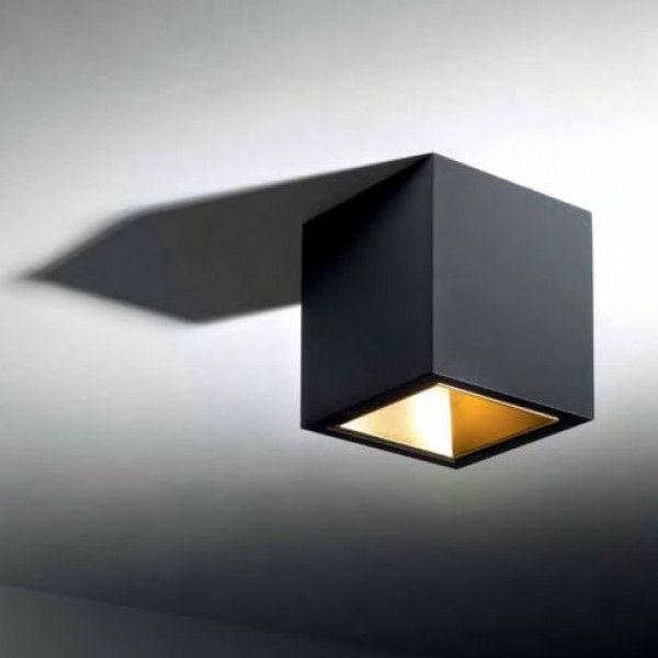 boxy l led 3033 deckenleuchte schwarz gold luminaire pinterest schwarzes gold. Black Bedroom Furniture Sets. Home Design Ideas