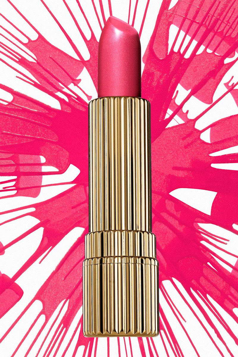 Estee Lauder Spin Art. Photography by Greg Broom. Beauty