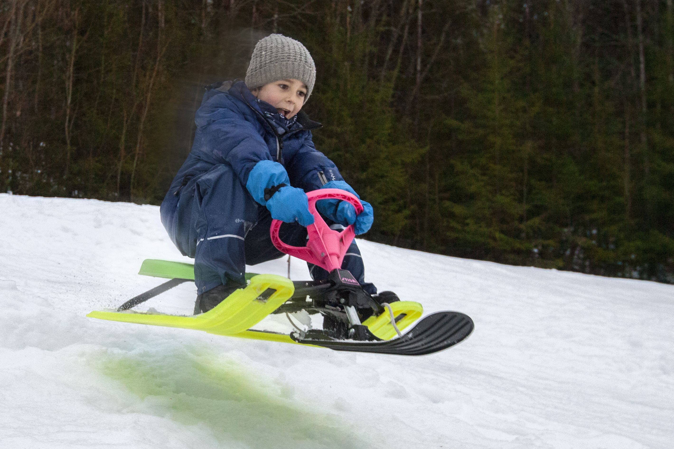 Stop motion snow racer #OCCoolPix
