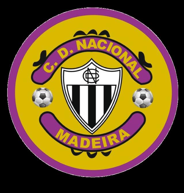 Nacional Portuguese Primeira Liga Football Logo Soccer Logo Sports Logo