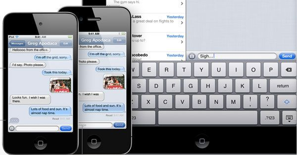 Get iMessages on Android And Windows Phone With iOS