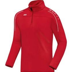 Photo of Jako Men's Ziptop Classico, size Xl in red, size Xl in red Jako