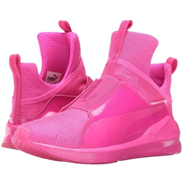 PUMA Fierce Bright (Pink Glo/Pink Glo) Women's Shoes ($100) ❤
