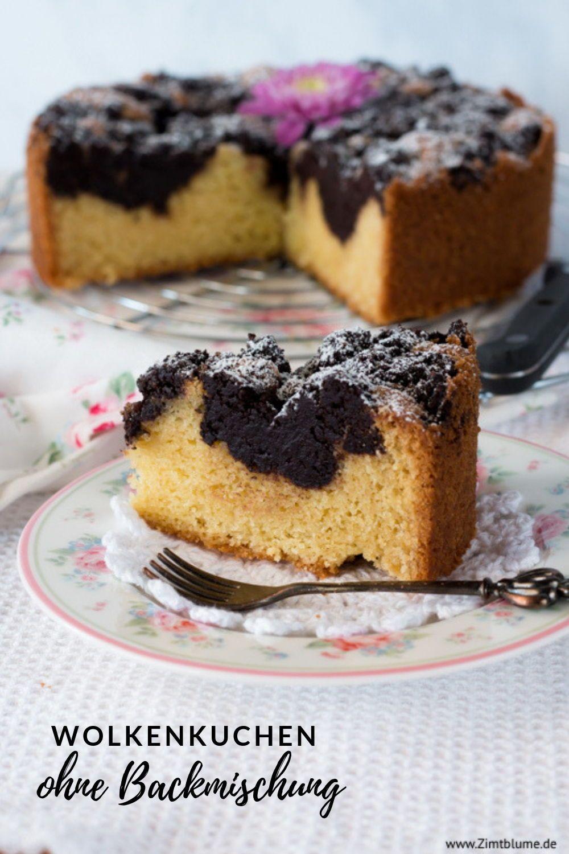 Rezept Fur Wolkenkuchen Ohne Backmischung Rezept In 2020 Kuchen Rezepte Kuchen Kuchen Ohne Backen